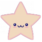 Stickers Kawaii Star