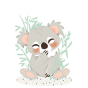 stickers Animignons - koala