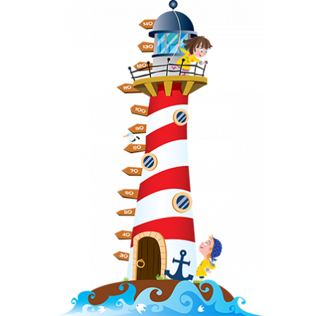 Stickers toise Phare