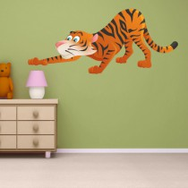 Sticker FELINS Tigre
