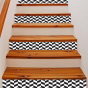 Stickers escalier damier