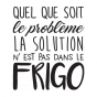 Stickers phrase frigo