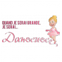 Stickers JE SERAI Danseuse couleur