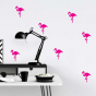 Stickers Motifs Flamant rose