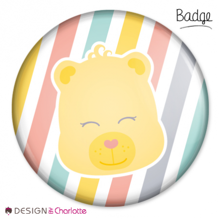 Badge Amour d' Ourson
