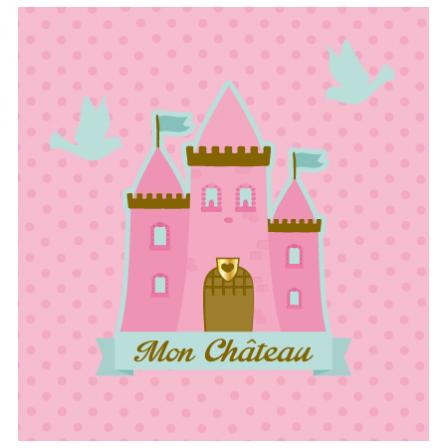 stickers interrupteur ch teau de princesse stickers malin. Black Bedroom Furniture Sets. Home Design Ideas
