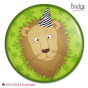 Badge Lion Party