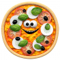 Stickers aliment pizza 2