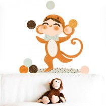 Stickers Adorables Costumés - le Singe