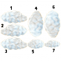 Stickers nuages 2