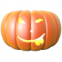 Stickers Halloween citrouille 5