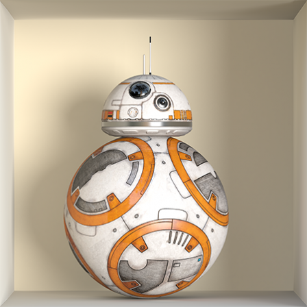Stickers apparence BB8