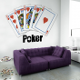 Stickers Quinte flush royale