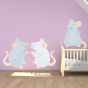 Stickers Animal - Souris
