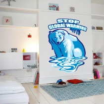 Stickers Ours qui fond