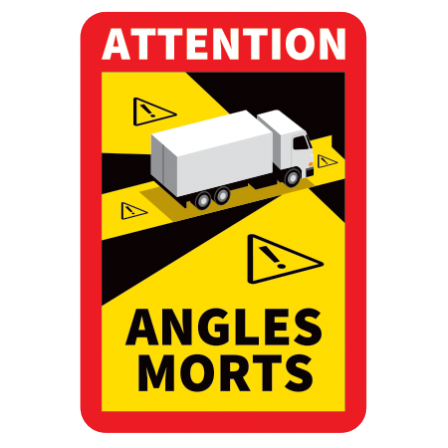 STICKERS ANGLES MORTS OFFICIEL
