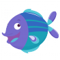 Stickers poisson 4