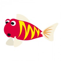 Stickers poisson fun