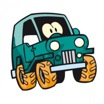 Stickers voiture jungle