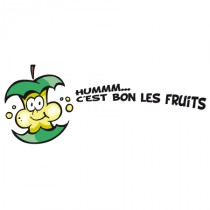 Stickers pomme fruits