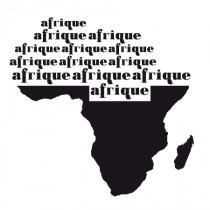 Stickers continent africain