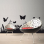 Stickers herbe et papillon