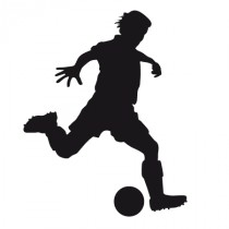 Stickers footballeur 4