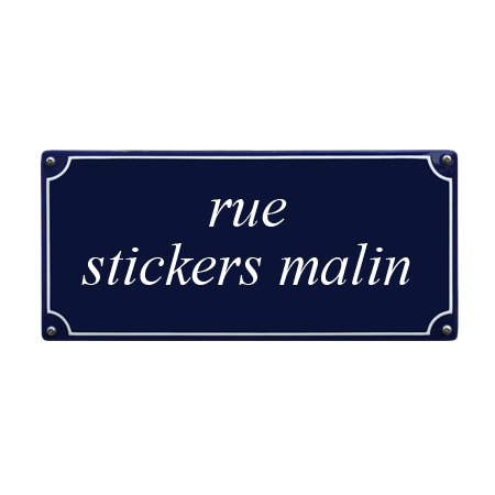 autocollant sticker numero de rue boite aux a lettre plaque personnalisable. Black Bedroom Furniture Sets. Home Design Ideas