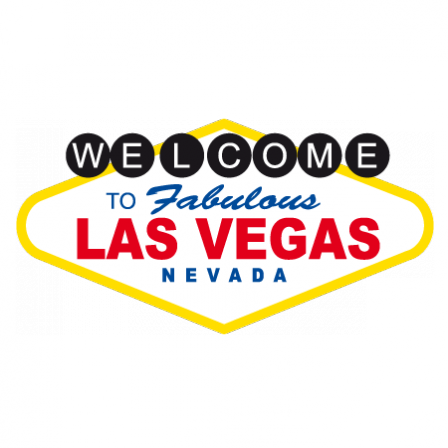 stickers welcome las vegas stickers malin. Black Bedroom Furniture Sets. Home Design Ideas