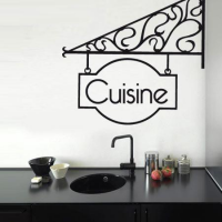 Stickers accroche cuisine stickers malin for Deco cuisine western