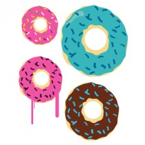 Stickers donuts 2