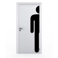 stickers porte toilette homme stickers malin. Black Bedroom Furniture Sets. Home Design Ideas
