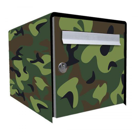 Stickers bo te aux lettres camouflage stickers malin - Stickers boite aux lettres ...