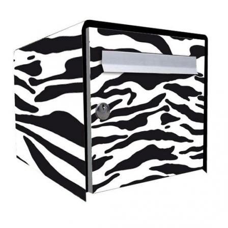 stickers bo te aux lettres z bre stickers malin. Black Bedroom Furniture Sets. Home Design Ideas