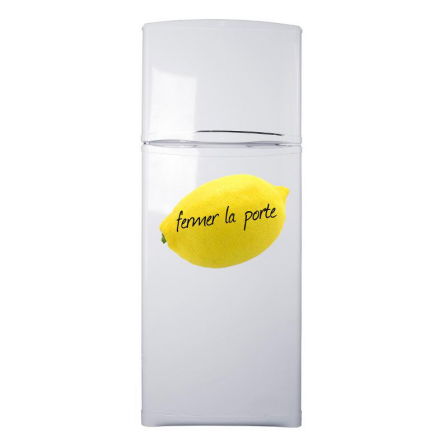Stickers frigo citron
