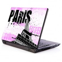 Stickers PC paris rose