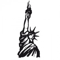 Stickers Statue of Liberty