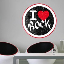 Stickers I Love Rock