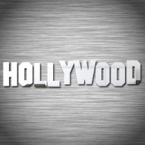 Stickers Hollywood miroir