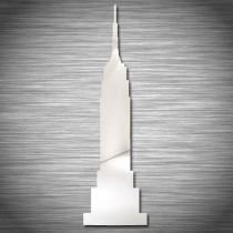 Stickers Empire State Building miroir
