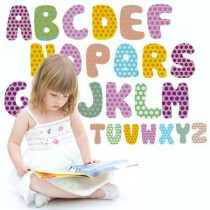 Stickers Alphabet enfant