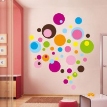Stickers Bulle colors