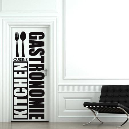 stickers porte de cuisine stickers malin. Black Bedroom Furniture Sets. Home Design Ideas
