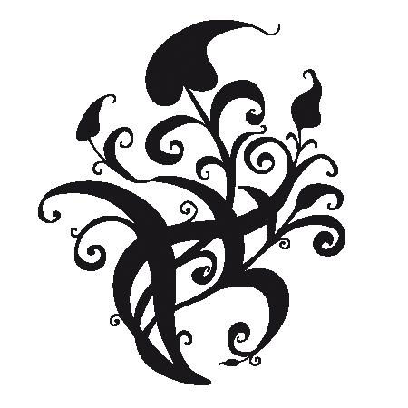 stickers motif baroque stickers malin. Black Bedroom Furniture Sets. Home Design Ideas