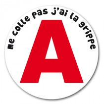 Stickers Grippe A 2