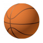 Stickers ballon de basket 2