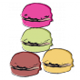 Stickers Macarons (L'Illusgraphie)