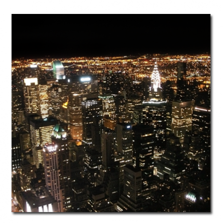 Tableau d co new york nuit 2 stickers malin for Table de nuit new york