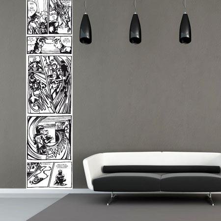 stickers l manga 2 stickers malin. Black Bedroom Furniture Sets. Home Design Ideas
