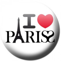 Badge I love Paris